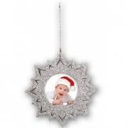 Kalėdinis žaisliukas ZEP HT4S 6,5x6,5 cm