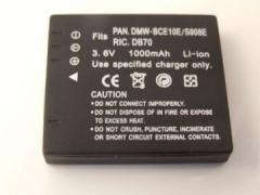 Panasonic, baterija CGA-S008/ DMW-BCE10/ VW-VBJ10, Ricoh DB-70
