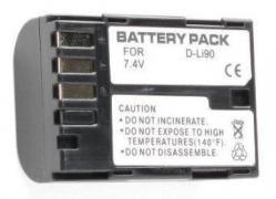 Pentax, baterija D-Li90