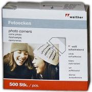 Walther skaidrūs kampučiai nuotraukoms 250vnt.