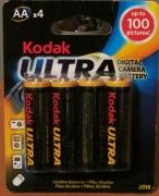 Kodak baterijos KAA-4 Ultra Digital