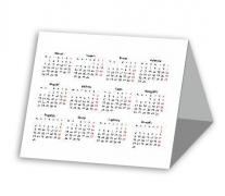 Trikampis kalendorius 11,5x15 cm su Jūsų nuotrauka